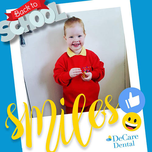 DeCare Dental Back to School Smiles competition - 2nd