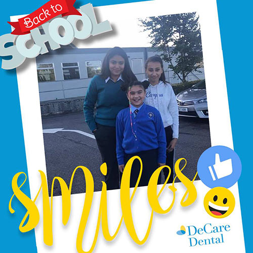 DeCare Dental Back to School Smiles competition - 3rd