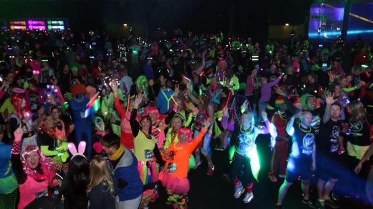 Electric Run participants
