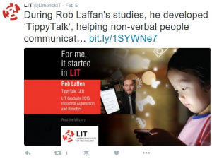 It started in LIT: social media campaign screengrab 2