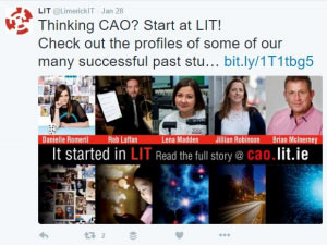 It started in LIT: social media campaign screengrab 1