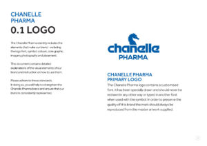 Chanelle Pharma identity guide page 5