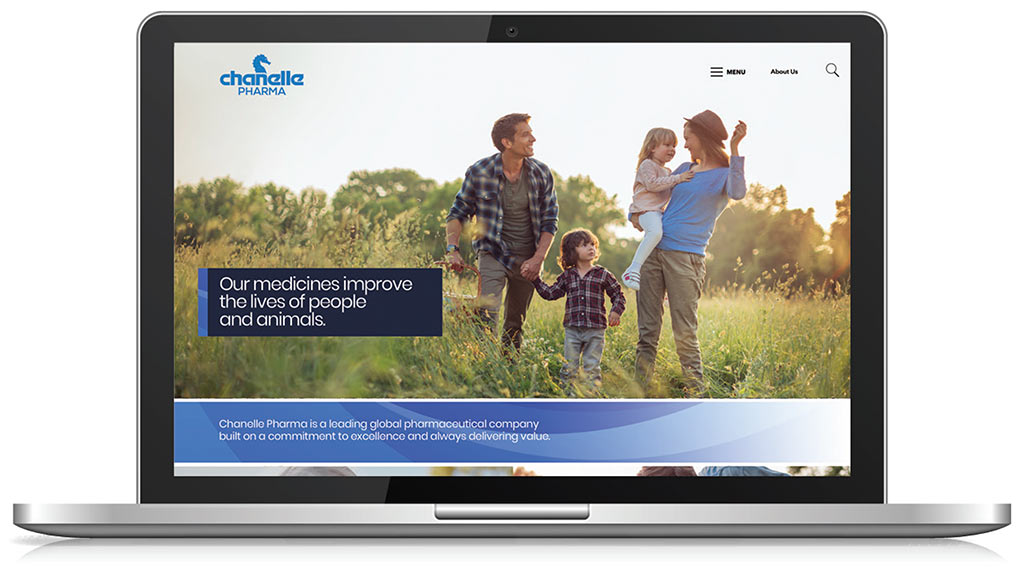 Chanelle Pharma homepage
