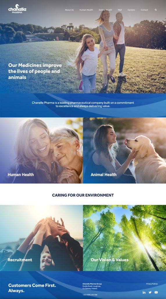 Chanelle Pharma website